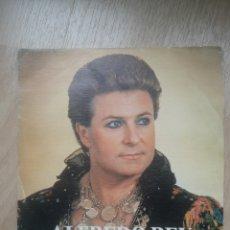 Disques de vinyle: ALFREDO REY NO ME QUEDARÉ EN PARÍS. Lote 243813515