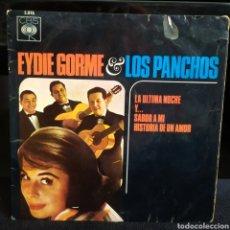 Discos de vinilo: EYDIE GORME & LOS PANCHOS - LA ULTIMA NOCHE +3 1964. Lote 243813640