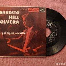 Discos de vinilo: EP ERNESTO HILL OLVERA - PANCHO LOPEZ / ORACION CARIBE +2 - MKE-149 - EP MEXICO (EX-/EX-). Lote 243815175