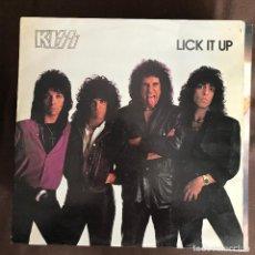 Discos de vinilo: KISS - LICK IT UP - LP CASABLANCA SPAIN 1983. Lote 243816215