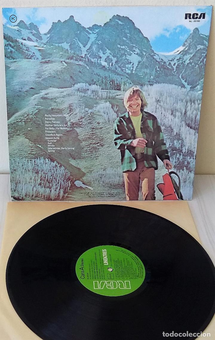 Discos de vinilo: JOHN DENVER - ROCKY MOUNTAIN HIGH RCA - LINEA TRES - 1973 - Foto 2 - 243819415