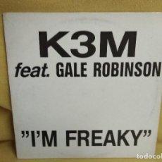 Discos de vinilo: K3M - I'M FREAKY. Lote 243823580