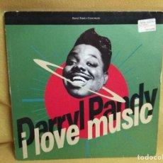 Discos de vinilo: DARRYL PANDY - I LOVE MUSIC. Lote 243824145