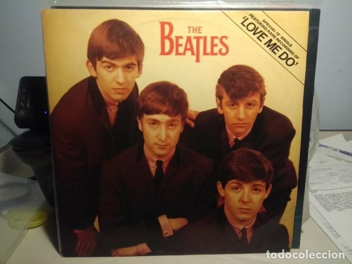 THE BEATLES : LOVE ME DO ( EP 3 CANCIONES, TAMAÑO LP ) (Música - Discos de Vinilo - EPs - Pop - Rock Internacional de los 50 y 60	)