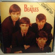 Discos de vinilo: THE BEATLES : LOVE ME DO ( EP 3 CANCIONES, TAMAÑO LP ). Lote 243826090