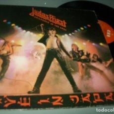 Discos de vinilo: JUDAS PRIEST - UNLEASHED IN THE EAST ( LIVE IN JAPAN ) ..LP DE 1979 CBS - EDICION ORIGINAL ESPAÑOLA. Lote 243827210