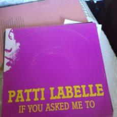 Discos de vinilo: PATTI LABELLE. Lote 243827625
