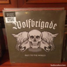 Discos de vinilo: WOLFBRIGADE / PREY TO THE WORLD / GATEFOLD / UNREST RECORDS 2007. Lote 243834825