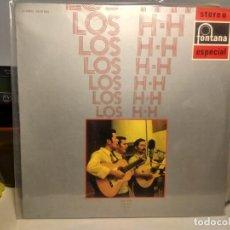 Discos de vinilo: LP LOS H. H. - CONTIENE SOMBRAS, LIMEÑA, EL ALAZAN, LA GALOPERA, ARIL Y MAYO, LA CIGARRA, ETC. Lote 243835585