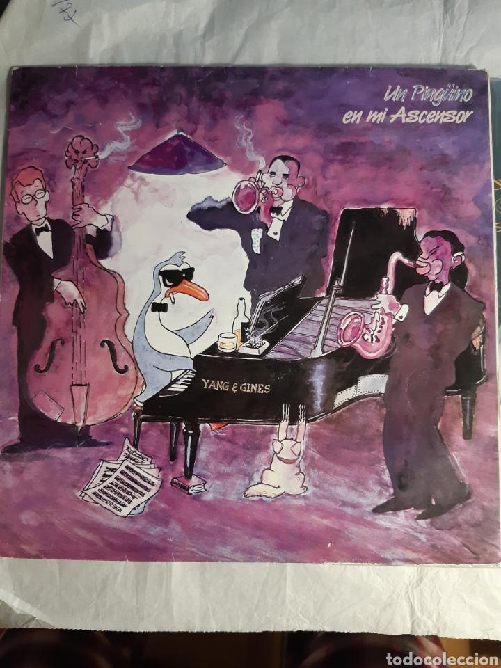 Discos de vinilo: 2 LP UN PINGUINO EN MI ASCENSOR EL BALNEARIO YANG AND GINES - Foto 2 - 243846390