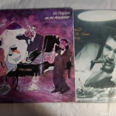 Discos de vinilo: 2 LP UN PINGUINO EN MI ASCENSOR EL BALNEARIO YANG AND GINES. Lote 243846390