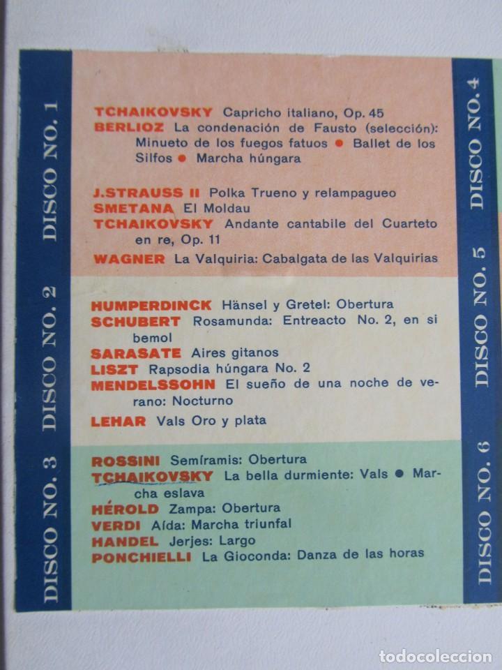 Discos de vinilo: Caja con 12 LPs vinilo Gran festival ligero de los clásicos Readers Digest - Foto 4 - 243850500