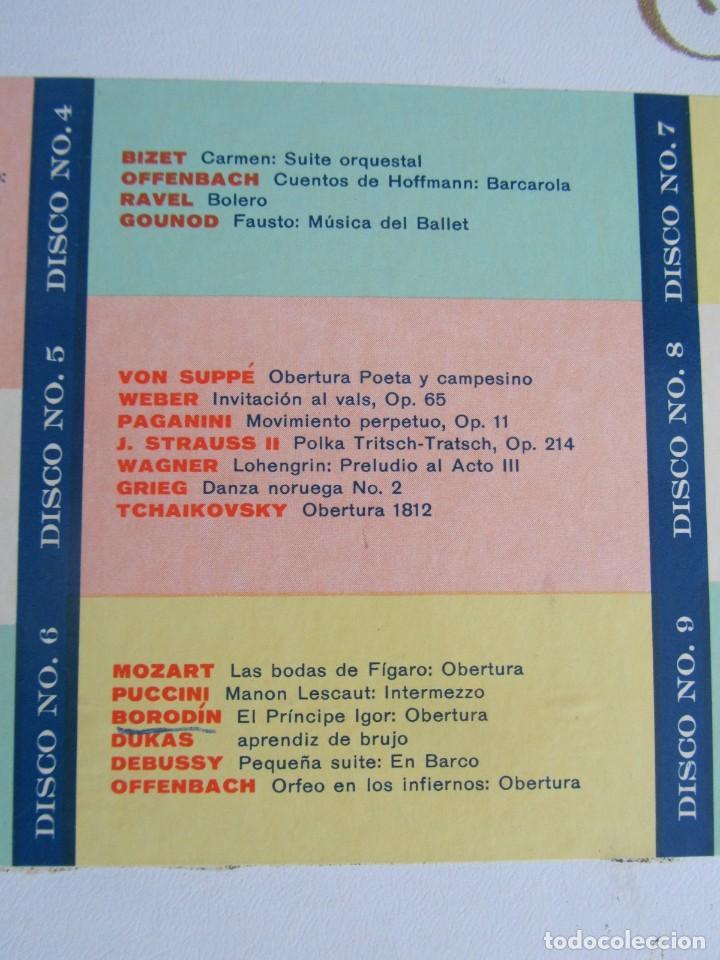 Discos de vinilo: Caja con 12 LPs vinilo Gran festival ligero de los clásicos Readers Digest - Foto 5 - 243850500