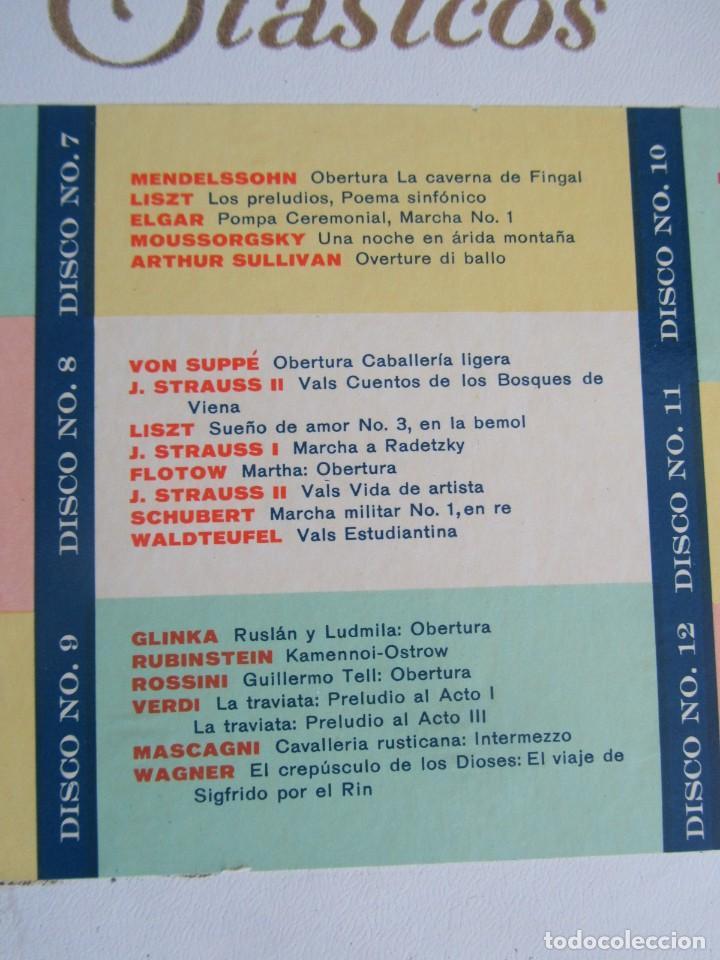 Discos de vinilo: Caja con 12 LPs vinilo Gran festival ligero de los clásicos Readers Digest - Foto 6 - 243850500