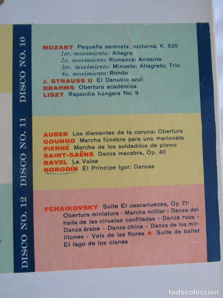 Discos de vinilo: Caja con 12 LPs vinilo Gran festival ligero de los clásicos Readers Digest - Foto 7 - 243850500
