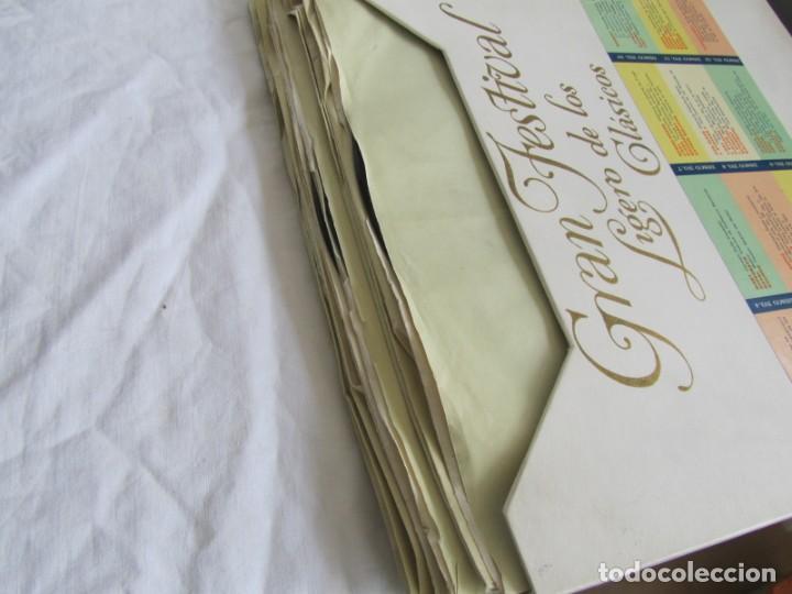 Discos de vinilo: Caja con 12 LPs vinilo Gran festival ligero de los clásicos Readers Digest - Foto 8 - 243850500