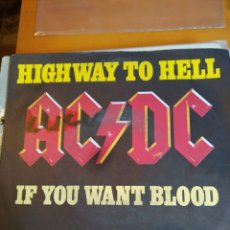 Discos de vinilo: AC/DC HIGHWAY TO HELL SINGLE. Lote 243850915