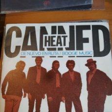 Discos de vinilo: CANNED HEAT DE NUEVO EN RUTA SINGLE. Lote 243851825