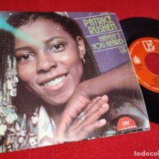 Discos de vinilo: PATRICE RUSHEN HAVEN'T YOU HEARD/KEEPIN FAITH IN LOVE 7'' SINGLE 1980 ELEKTRA ESPAÑA SPAIN. Lote 243854250