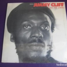 Discos de vinilo: JIMMY CLIFF – I AM THE LIVING - LP WEA EDICION DE 1983 PRECINTADA - REGGAE JAMAICA 70'S. Lote 243859170