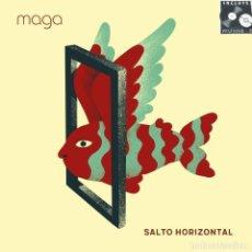 Discos de vinilo: MAGA * LP VINILO 180G + CD * SALTO HORIZONTAL * RECORD STORE DAY 2017 * PRECINTADO. Lote 243859995