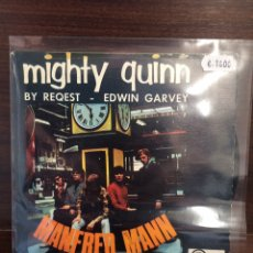 Discos de vinilo: MANFRED MANN. SINGLE. MIGHTY QUINN/BY REQUEST.. Lote 243864270