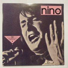 Disques de vinyle: DOBLE LP NINO BRAVO 30 GRANDES ÉXITOS ORIGINALES EDICIÓN ESPAÑOLA DE 1990. Lote 253612730