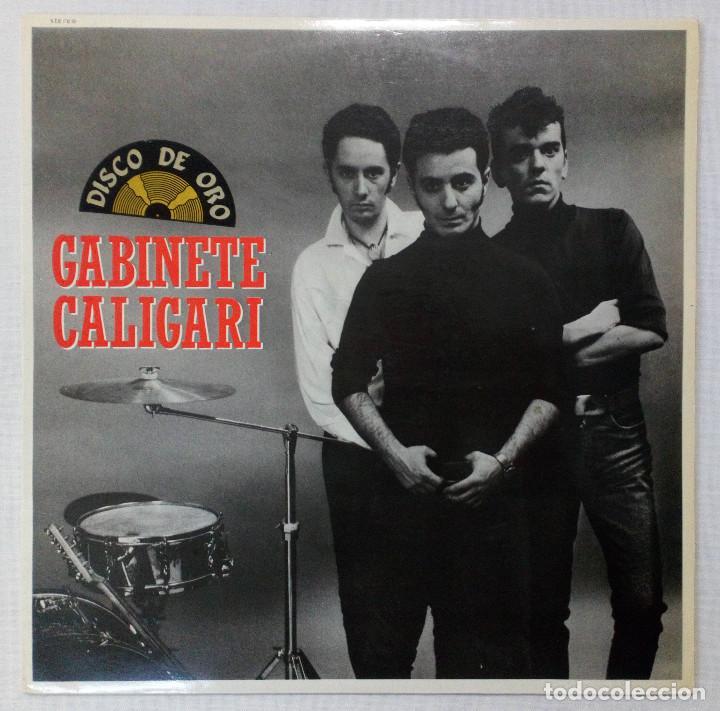 VINILO LP GABINETE CALIGARI. CUATRO ROSAS. 1984 (Música - Discos - LP Vinilo - Grupos Españoles de los 70 y 80)