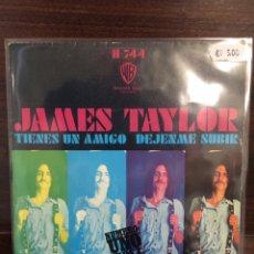 Discos de vinilo: JAMES TAYLOR. SINGLE. YOU' VE GOT A FRIEND/LET ME.. Lote 243868595