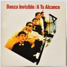 Discos de vinilo: DANZA INVISIBLE - A TU ALCANCE. LP. Lote 243869875