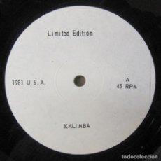 Discos de vinilo: EARTH, WIND & FIRE - KALIMBA - 1981 - MEDLEY DE CANCIONES NO OFICIAL. Lote 243871010