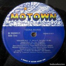 Discos de vinilo: TEENA MARIE - SQUARE BIZ / SQUARE BIZ INSTRUMENTAL - 1981 - MOTOWN - EDICIÓN AMERICANA. Lote 243872345