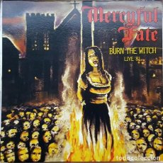 Discos de vinilo: MERCYFUL FATE ‎– BURN THE WITCH LIVE '81 -LP-. Lote 243876935