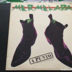 Discos de vinilo: MERMELADA - A PUNTO. Lote 243877620