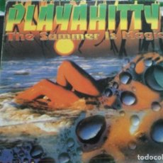 Discos de vinilo: PLAYAHITTY - THE SUMMER IS MAGIC. Lote 243879335