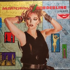 Discos de vinilo: MADONNA - BORDERLINE US REMIX - MAXISINGLE - ALEMANIA - EXCELENTE - NO USO CORREOS. Lote 243879785