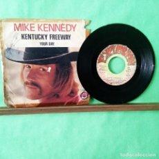 Discos de vinilo: MIKE KENNEDY. KENTUCKY FREEWAY - LIMPIO TRATADO CON ALCOHOL ISOPROPÍLICO - AZ. Lote 243883115