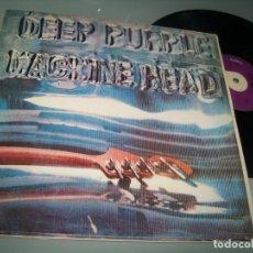 Discos de vinilo: DEEP PURPLE - MACHINE HEAD ...LP 1ª EDICION DE 1972 - ORIGINAL ESPAÑOL - PORTADA ABIERTA. Lote 243886325