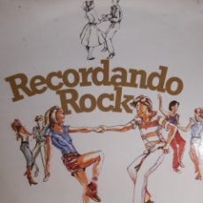 Discos de vinilo: LA ALEGRE BANDA-RECORDANDO ROCK. Lote 243887620