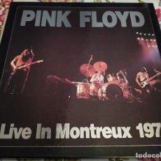 Discos de vinilo: PINK FLOYD – LIVE IN MONTREUX 1971.TRIPLE VINILO ( COLOR ROSA ) .BUEN ESTADO. CAJA EN BUEN ESTADO. Lote 243891355