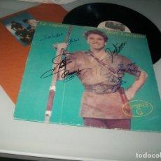 Discos de vinilo: HOMBRES G - LA CAGASTE....BURT LANCASTER ..LP DE 1986,,FIRMADO POR LA BANDA - CONTIENE. Lote 243894585