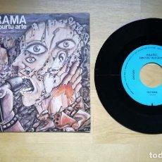 Discos de vinilo: ZARAMA GAUA APURTU ARTE (OIANONE / BIDEA ERATZEN) SINGLE 1985 HILARGI DISCOS SUICIDAS. Lote 243895515