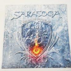 Discos de vinilo: DISCO VINILO SARATOGA-MORIR EN EL BIEN, VIVIR EN EL MAL.. Lote 243898125