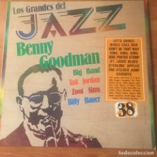 Discos de vinilo: BENNY GOODMAN BIG BAND* / TAFT JORDAN / ZOOT SIMS / BILLY BAUER – LO. Lote 243900630
