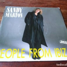 Discos de vinilo: SANDY MARTON - PEOPLE FROM IBIZA, STAY - SINGLE ORIGINAL TWINS1986. Lote 243903860