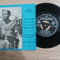 Discos de vinilo: MARCHAS E HIMNOS .CANCION DEL LEGIONARIO ETC..1959.BANDA DE MUSICA DE MADRID. Lote 243905065