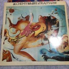 Discos de vinilo: DIRÉ STRAITS LIVE . ALCHEMY 1984 VERTIGO / INCREIBLE. Lote 243907760
