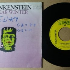 Discos de vinilo: EDGAR WINTER / FRANKENSTEIN / SINGLE 7 PULGADAS. Lote 243911070