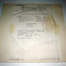 Discos de vinilo: HEAVENS GATE - LIVIN´IN HYSTERIA PROMO LP. Lote 243912165