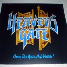 Discos de vinilo: LP HEAVENS GATE - OPEN THE GATE AND WATCH!. Lote 243912585